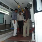 In the 108 ambulances of Rajasatan with JMD,KMSCKL