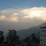 Mussorie Hills on 26th Oct 0212 -  Chilling period has started