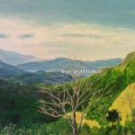 Morning at Ponmudi - Oil on Canvas 2008
