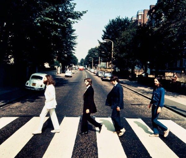 Famous Album Cover Art For The Beatles Abbey Road Correct Not