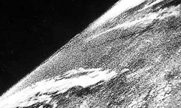 The first photo taken in space from 1946