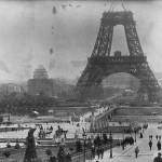 construction of Effel tower