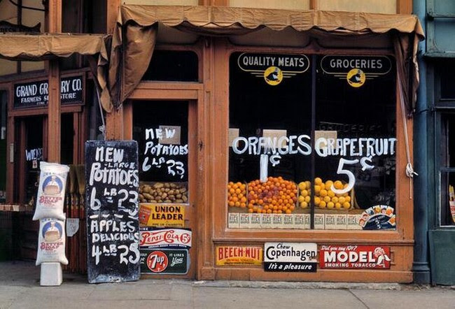 Oranges were sold for just one cent, 1942.