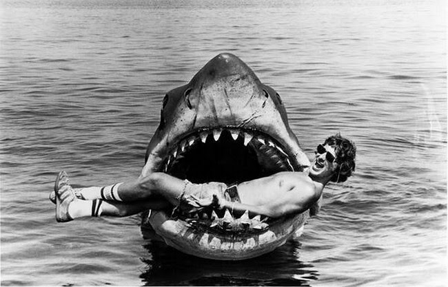 "Steven Spielberg gave the world ""Bruce"", the prop that was used to make ""Jaws"" in 1975."